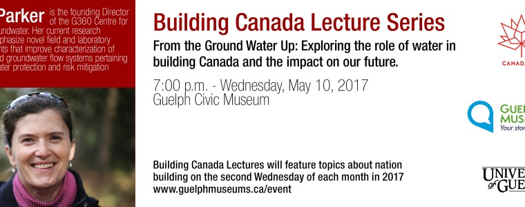 Beth Parker Building Canada Lecture series send out