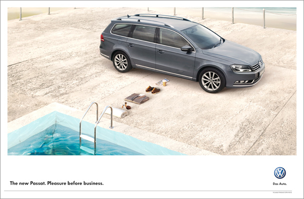 VW Passat | Pleasure Before Business | Pool