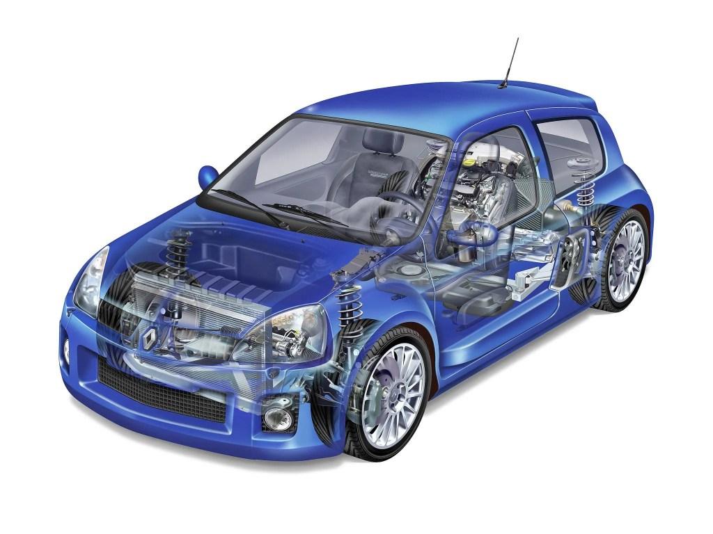 Clio V6 em detalhes