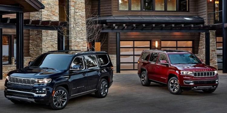 Jeep Wagoneer e Grand Wagonner 2022