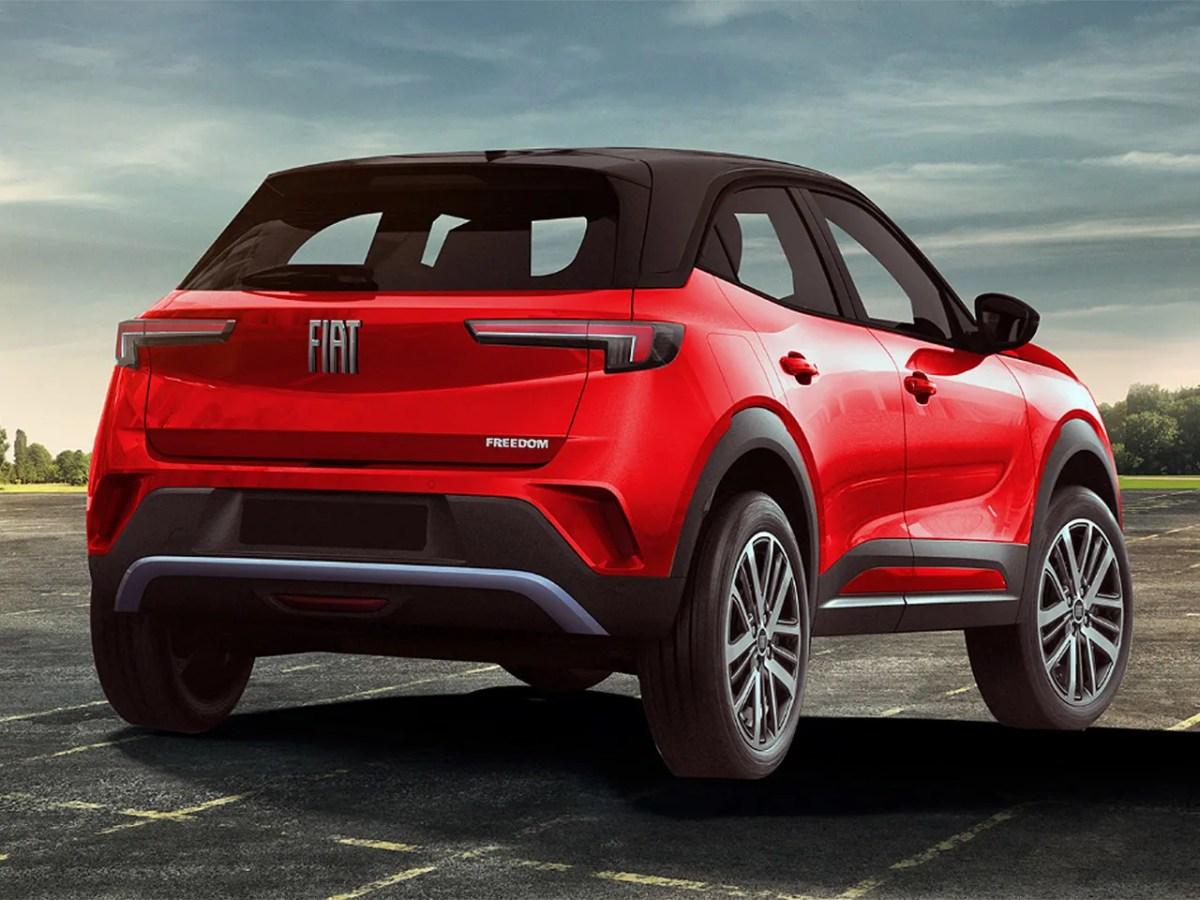 Projeção Fiat Argo SUV