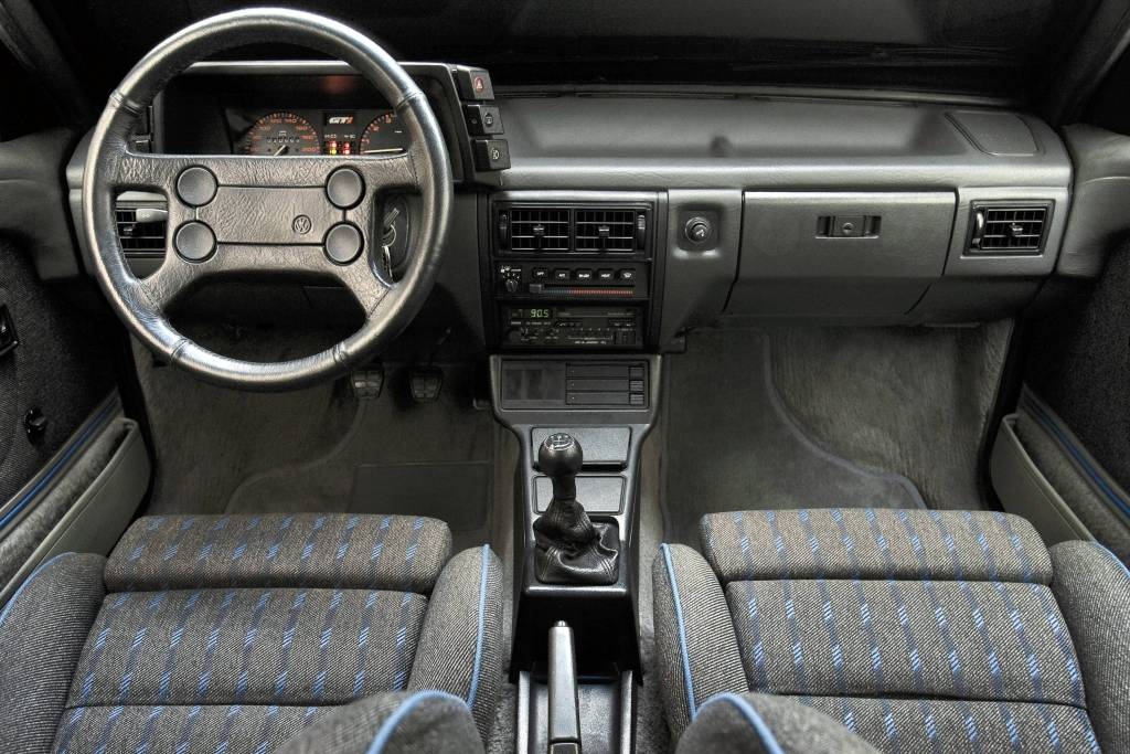 Interior VW Gol GTi 1989