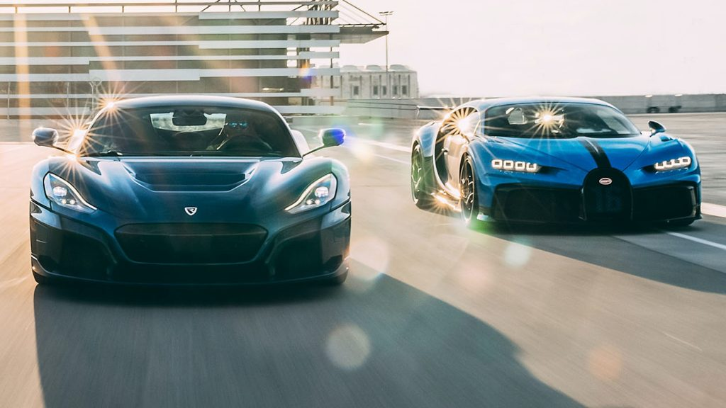 Bugatti é vendida para a Rimac,
