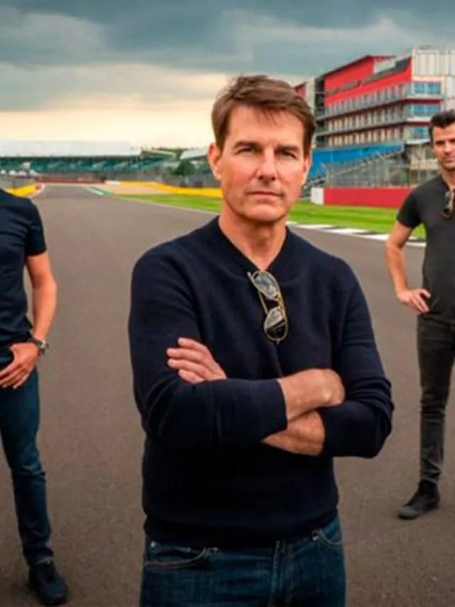 Tom Cruise usa Porshe 911 GT3 para desafiar ex-pilotos de F1