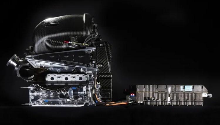 Motor F1 Mercedes