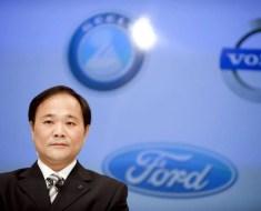 Li Shufu - Presidente da Zhejiang Geely Holding Group