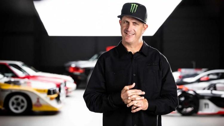 Ken Block contratado pela Audi