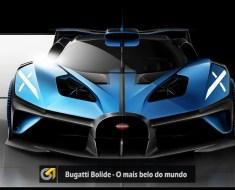 Bugatti Bolide - Eleito o mais belo do mundo