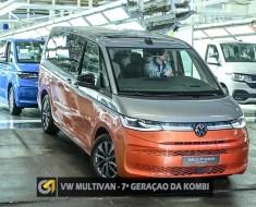 Nova Multivan T7 – 7ª geração da Kombi