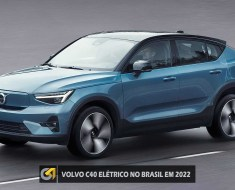 VOLVO C40 ELÉTRICO NO BRASIL EM 2022