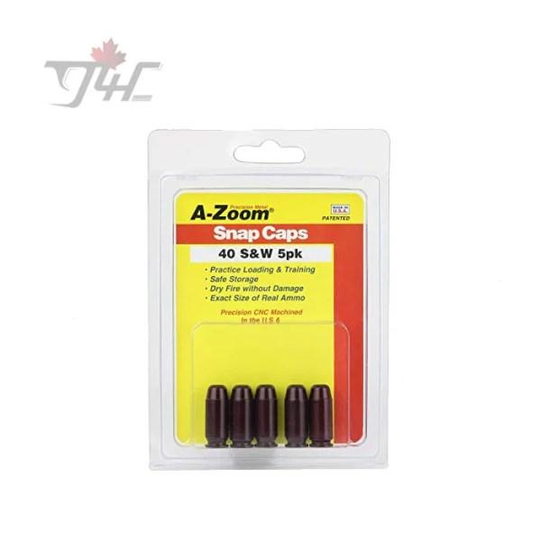 AZOOM SNAP CAPS 40 S&W