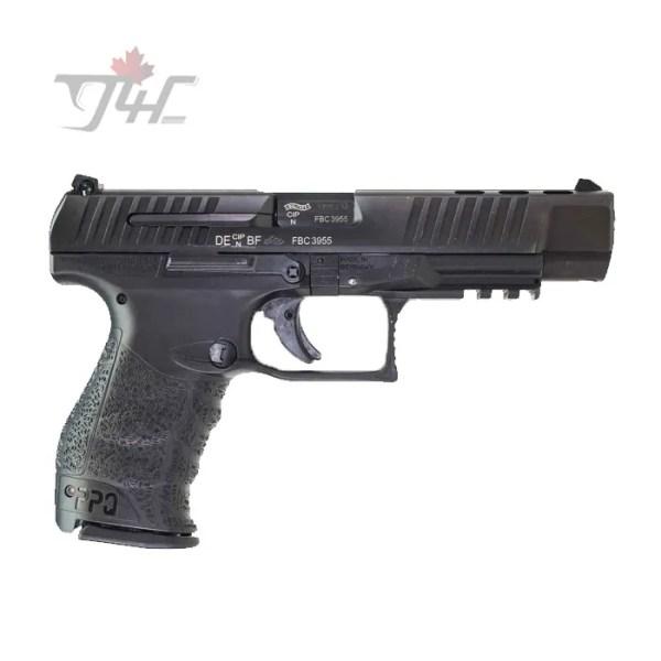 "Walther PPQ M2 9mm 5"" BRL Black"