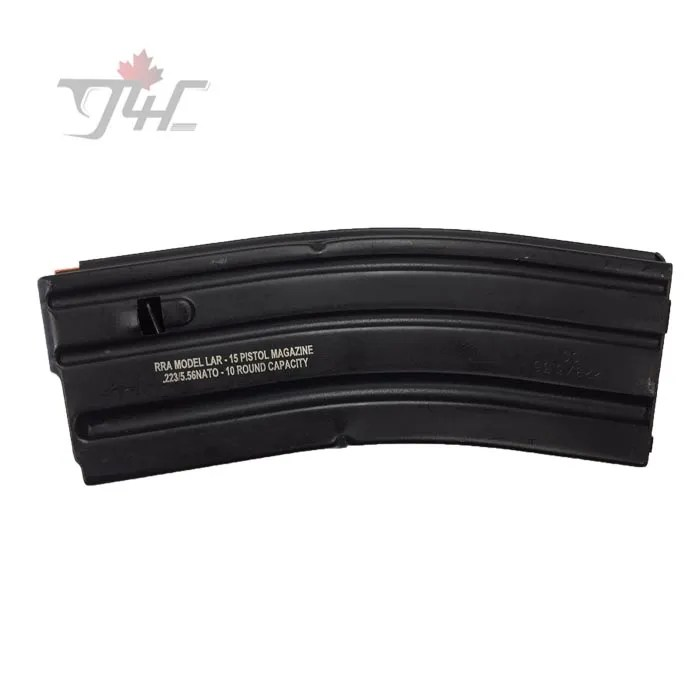 ASC RRA Model LAR-15 Pistol Magazine  223/5 56 10/30 Rounds Capacity