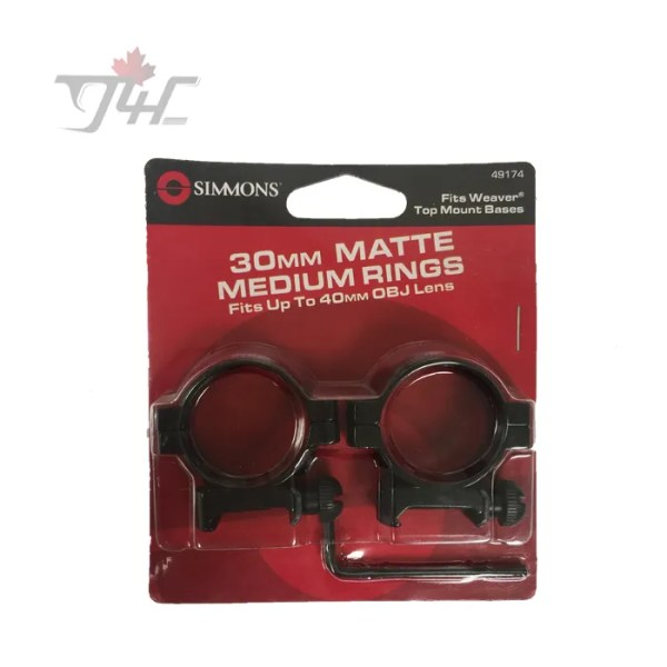 Simmons 30mm Tube Ring Matte (medium)