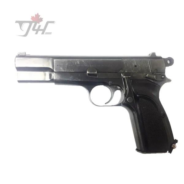Browning Hi Power Mark 3 Surplus 9mm 4.7 Black