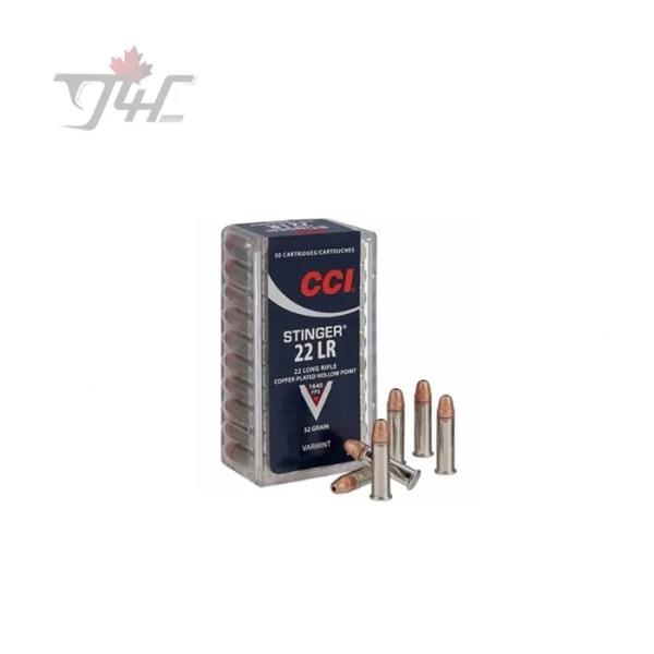 CCI .22LR Stinger 32gr. CPHP 50rds