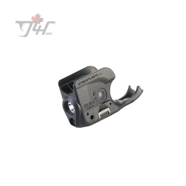 Streamlight TLR-6 Trigger Guard Light 100Lumens with Red Laser BLK (Non-Rail 1911s)