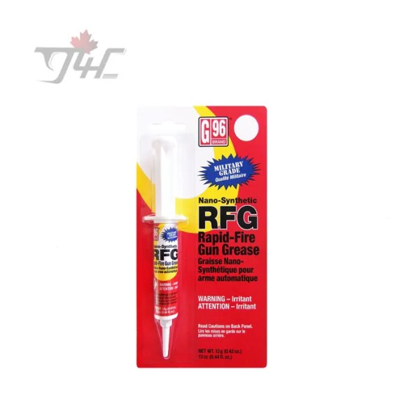 G96 Military Grade Nano-Synthetic RFG Grease