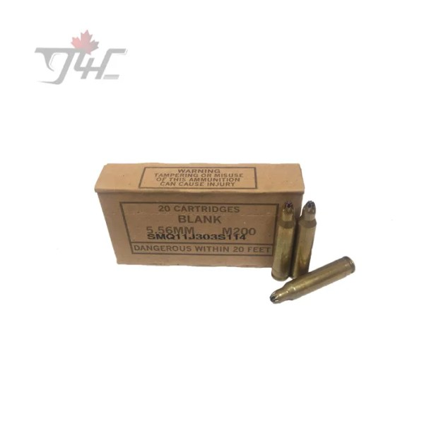 SMQ 5.56mm Blanks 20pack