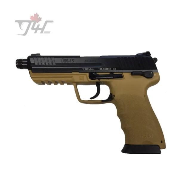 "Heckler & Koch HK45 Tactical .45ACP 5"" BRL V1 RAL8000"
