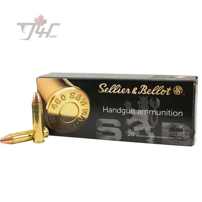 Sellier&Bellot .460S&W