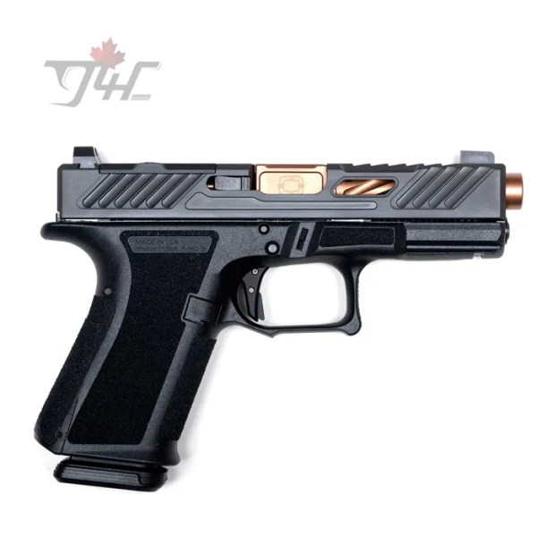"Shadow Systems MR918 Elite Optic Ready 9mm 4.25"" Black/Bronze"