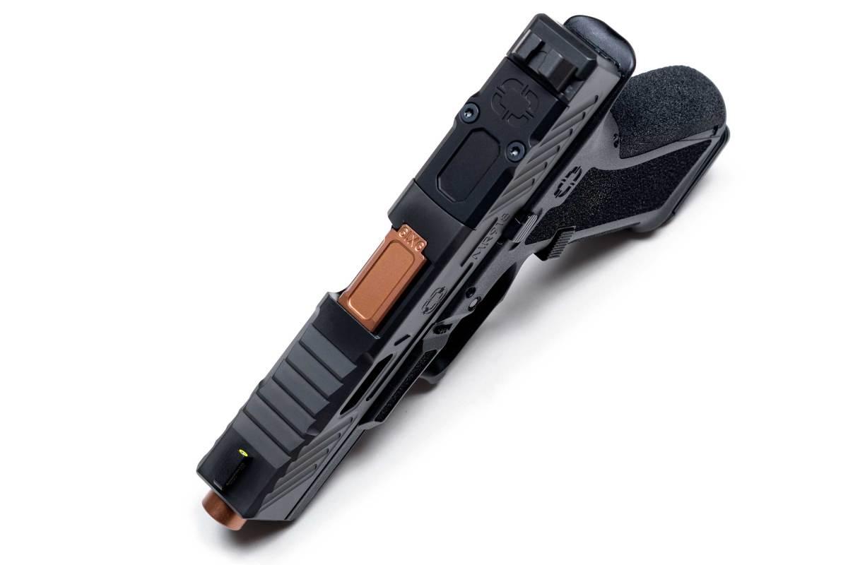 "Shadow Systems MR918 Elite Optic Ready 9mm 4.25"" Black/Bronze"