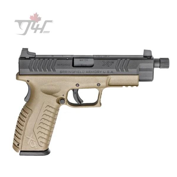 Springfield XDM 9mm 4.5 BRL FDE
