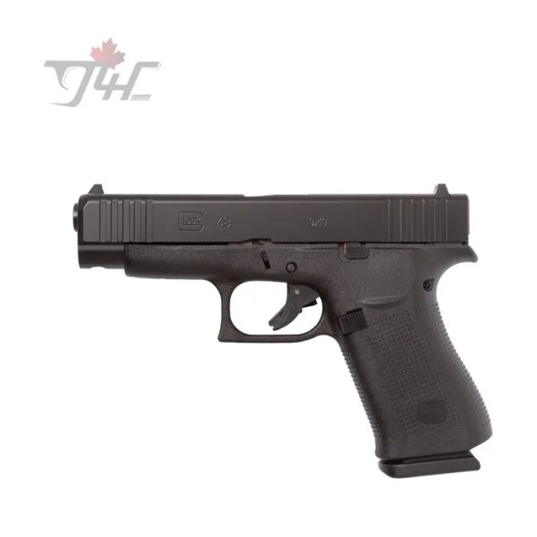 glock 48 black fixed sight