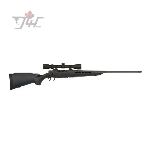 "Mossberg 4X4 w/3-9x40 Scope 30-06SPRG 24"" BRL Black"