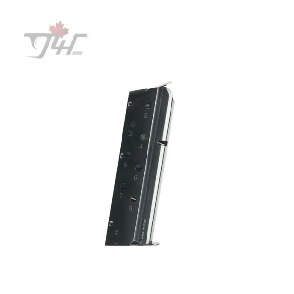 Remington 1911 .40S&W 8rd Magazine EXT Base Stainless Steel