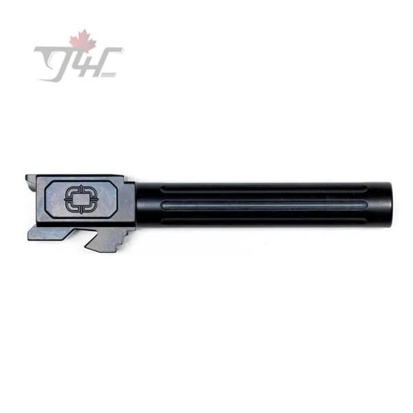 Shadow Systems Glock 17 Gen3/4 Fluted Black DLC Match Barrel