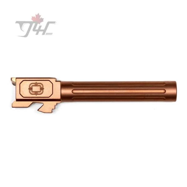 Shadow Systems Glock 17 Gen3/4 Fluted Bronze TiCN Coated Match Barrel