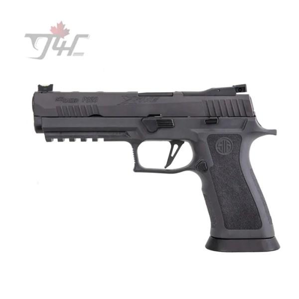 """Sig Sauer P320 X-Five Legion 9mm 5"""" BRL Black"""