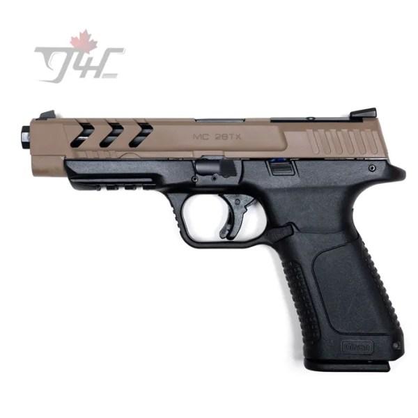 "Girsan MC 28 SA Tactical Optic Ready 9mm 5"" BRL FDE"