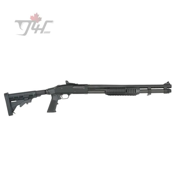 "Mossberg 590A1 Tactical Tri-Rail Adjustable 12Gauge 20"" BRL Black"