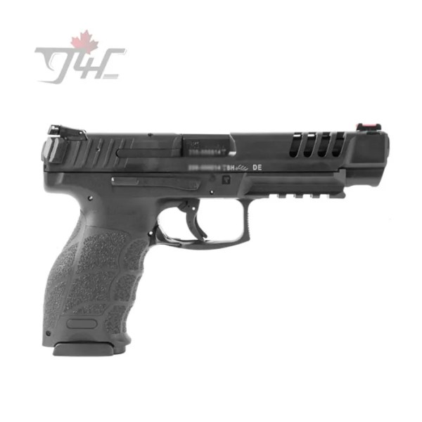 "Heckler & Koch SFP9L-SF 9mm 5"" BRL Black"