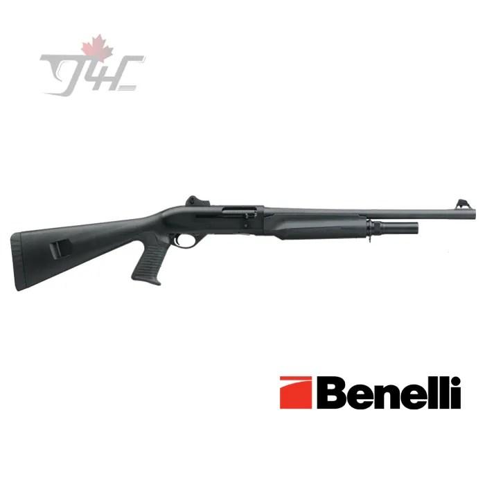 "Benelli M2 Tactical Pistol Grip 12Gauge 18.5"" Black Synthetic"
