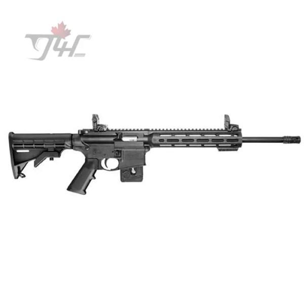 """Smith & Wesson M&P15-22 Sport M-Lok CA Compliant .22LR 16.5"""" BRL Black"""