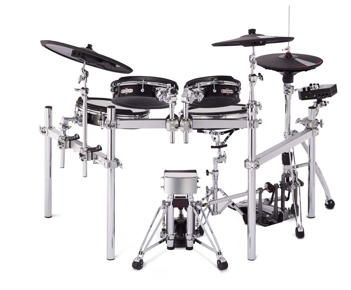 The Pearl E Merge Electronic Drum Kit Emerges From A New