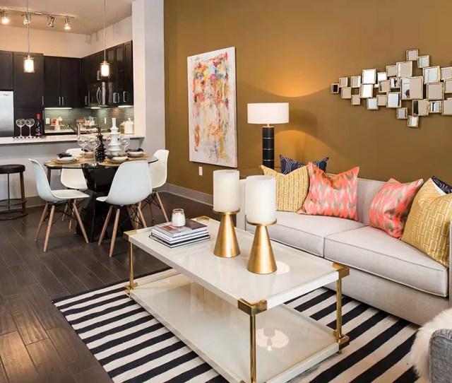 Modern Living Room At Anthem Cityline