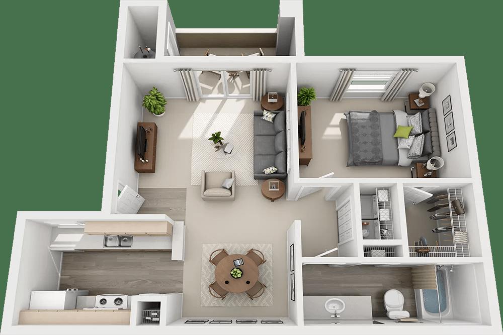 Luxury 1, 2 & 3 Bedroom Apartments In Las Vegas, NV