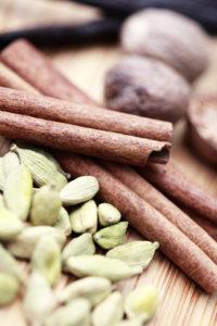 vanilla cardamom nutmeg cinnamon