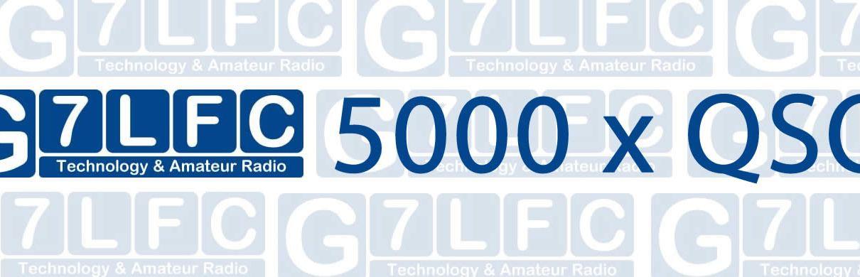 G7LFC 5,000th QSO