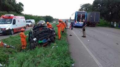 Foto de Acidente na BR 135 deixa 5 mortos