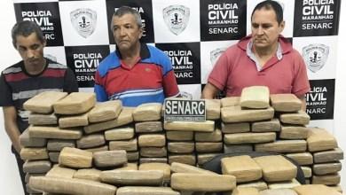 Foto de Senarc apreende 300 quilos de maconha no MA