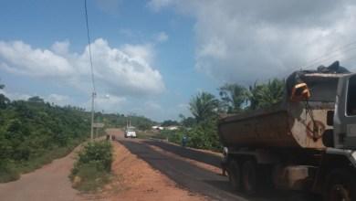 Foto de Ponte na estrada de Alcântara está sendo recuperada