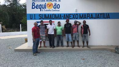 Foto de Prefeitura de Bequimão e Governo do Estado inauguram Escola em Marajatiua