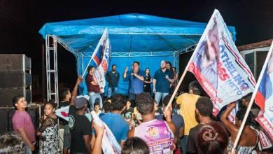 Foto de Othelino Neto reúne-se com moradores de Itapecuru-MA