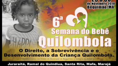 Foto de VI Semana do Bebê Quilombola inicia neste domingo (25)